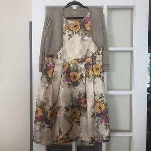Monsoon London Dress and Cardi